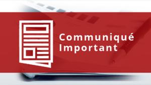 Communique CAMI et DGRAD